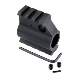 GUNTEC ALUMINUM RAIL HEIGHT GAS BLOCK .750