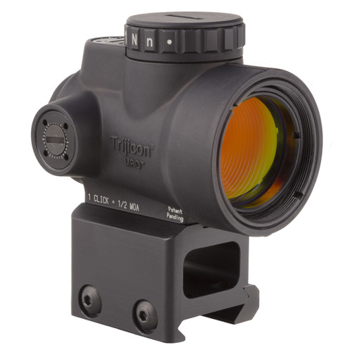 TRIJICON MRO - 2.0 MOA ADJUSTABLE GREEN DOT WITH LOWER 1/3 CO-WITNESS MOUNT