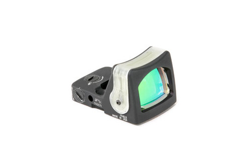 TRIJICON RMR DUAL ILLUMINATED SIGHT - 7.0 MOA AMBER DOT BLACK