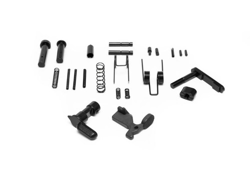 PATRIOT DEFENSE GEAR LOWER PARTS BUILDER KIT, NO TRIGGER GUARD, GRIP, FCG