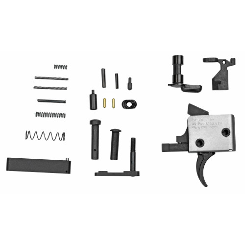 LOWER ASSEMBLY KIT WITH 3.5 LB CURVED TRIGGER AND ANTI-WALK PIN SET