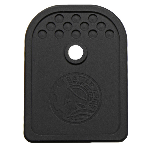 BATTLE ARMS GLOCK MAGAZINE BASEPLATE 9/40/357SIG BLACK