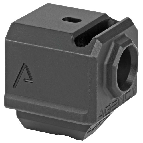 AGENCY ARMS 417 COMPENSATOR SINGLE PORT BLACK