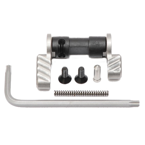 BATTLE ARMS BAD-ASS AMBIDEXTROUS SAFETY SELECTOR - STAINLESS