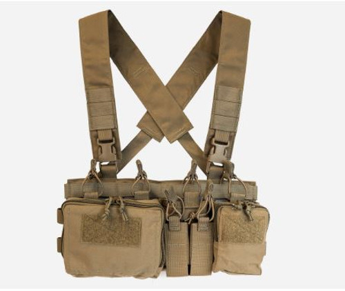 HALEY STRATEGIC D3CRX HEAVY CHEST RIG COYOTE