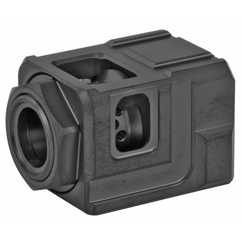 CHAOS GEAR SUPPLY THE OFFICIAL QUBE COMPENSATOR BLACK / BLACK