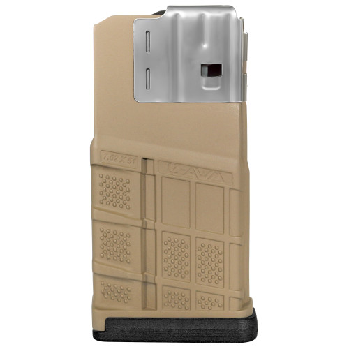 LANCER L7 ADVANCED WARFIGHTER 20 ROUND 7.62 MAGAZINE (L7AWM) - FLAT DARK EARTH