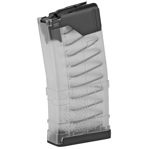 LANCER SYSTEMS L5AWM 5.56 20 ROUND MAGAZINE - TRANSLUCENT CLEAR