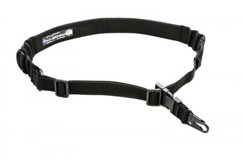 BLUE FORCE GEAR  UDC PADDED BUNGEE SINGLE POINT SLING WITH SLING SNAP HOOK BLACK
