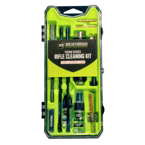 BREAKTHROUGH CLEAN VISION SERIES RIFLE CLEANING KIT- AR15 / .223CAL / 5.56MM