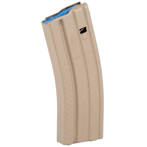 SUREFEED MAGAZINE - OKAY INDUSTRIES, INC. E2 AR15 .223 REM/5.56 30-ROUND MAGAZINE- DESERT TAN