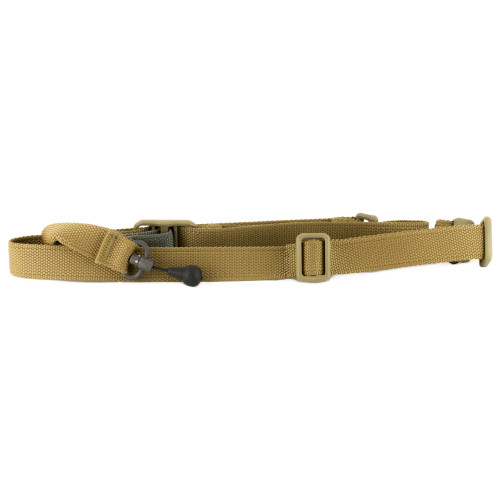 BLUE FORCE GEAR VICKERS 221 SLING WITH RED SWIVEL COYOTE