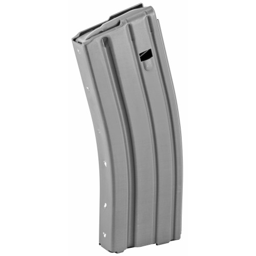 AMMUNITION STORAGE COMPONENTS AR-15 30 RD .223/5.56 ALUMINUM MAGAZINE - GREY WITH GREY FOLLOWER