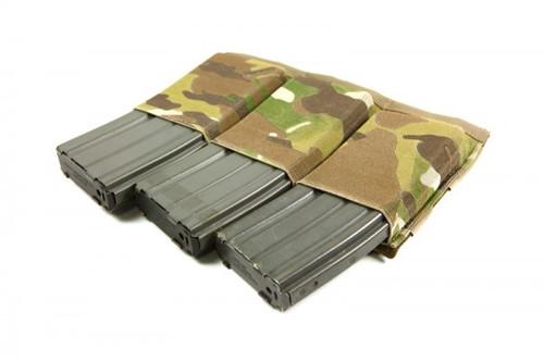 BLUE FORCE GEAR TEN-SPEED TRIPLE M4 MAG POUCH MULTICAM