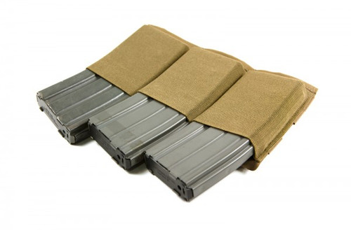 BLUE FORCE GEAR TEN-SPEED TRIPLE M4 MAG POUCH COYOTE BROWN