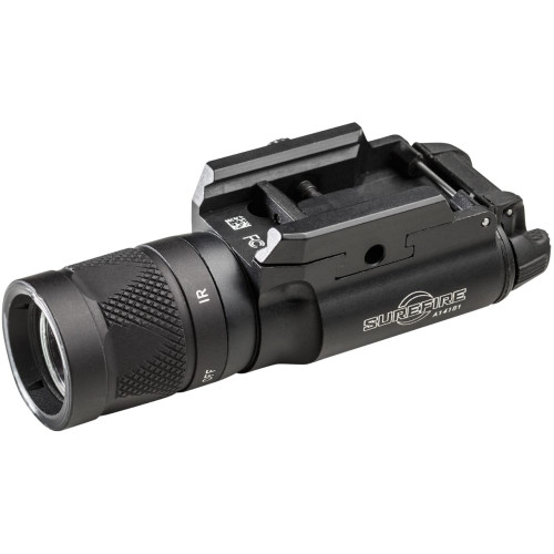 SUREFIRE X300V-B WEAPONLIGHT: INFRARED / WHITE LED HANDGUN WEAPONLIGHT WITH T-SLOT MOUNTING SYSTEM