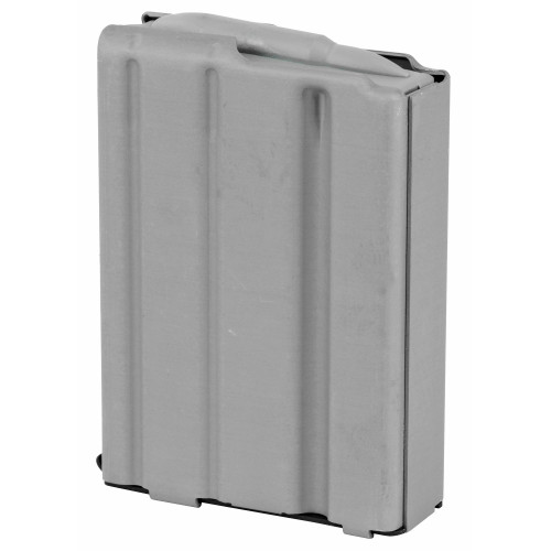 AMMUNITION STORAGE COMPONENTS AR-15 10 RD .223/5.56 ALUMINUM MAGAZINE - GREY WITH GREY FOLLOWER