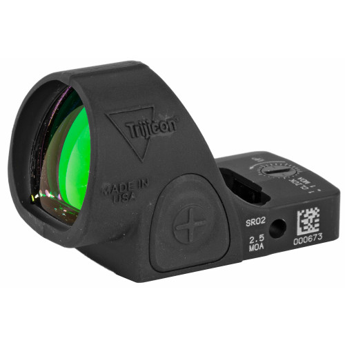 TRIJICON SRO® RED DOT SIGHT: 2.5 MOA RED DOT, ADJUSTABLE LED