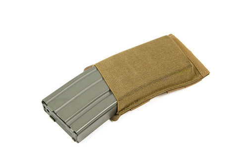 BLUE FORCE GEAR TEN-SPEED SINGLE M4 MAG POUCH COYOTE BROWN
