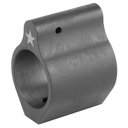 BRAVO COMPANY USA LOW PROFILE GAS BLOCK (STEEL WITH SET SCREWS) 750