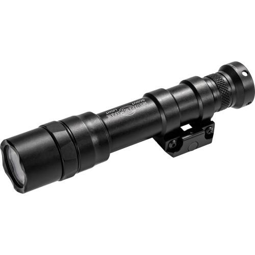 SUREFIRE SUREFIRE M600DF SCOUT LIGHT® WEAPONLIGHT - DUAL FUEL LED SCOUT LIGHT® W/ M75 THUMBSCREW MOUNT BLACK