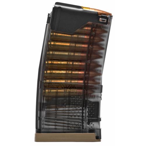 LANCER SYSTEMS L5AWM® 300BLK 20 MAGAZINE TRANSLUCENT SMOKE