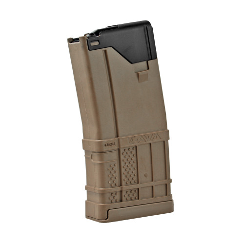 LANCER SYSTEMS L5AWM 5.56 20 ROUND MAGAZINE - OPAQUE FLAT DARK EARTH  (FDE)