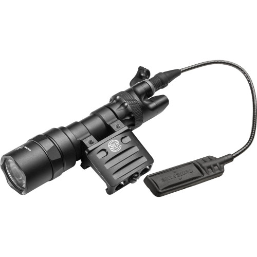 SUREFIRE M312C SCOUT LIGHT® WEAPONLIGHT : COMPACT LED SCOUT LIGHT® W/ DS07 TAIL SWITCH, ST07 REMOTE SWITCH ASSEMBLY & RM45 MOUNT
