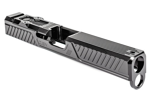 ZEV TECHNOLOGIES Z17 CITADEL STRIPPED SLIDE WITH RMR PLATE FOR 4TH GEN, GRAY