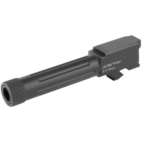 LONE WOLF ARMS ALPHAWOLF BARREL FOR M/27&33 CONVERSION TO 9MM THREADED 1/2 x 28