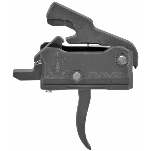 RISE ARMAMENT RAVE 140 CURVED TRIGGER WITH ANTI-WALK PINS
