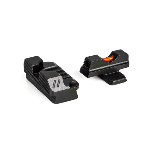 ZEV TECHNOLOGIES COMBAT SIGHT SET FOR SIG SLIDES, FIBER OPTIC