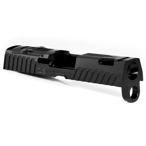 ZEV TECHNOLOGIES Z320 XCOMPACT OCTANE SLIDE WITH RMR OPTIC CUT, DLC