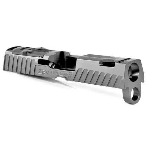ZEV TECHNOLOGIES Z320 XCOMPACT OCTANE SLIDE WITH RMR OPTIC CUT, GRAY