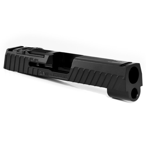 ZEV TECHNOLOGIES Z365XL OCTANE SLIDE WITH RMSC OPTIC CUT, DLC