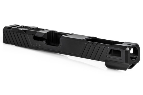 ZEV TECHNOLOGIES Z19 OZ9 EXTRA LONG SLIDE WITH RMR OPTIC CUT FOR 3RD GEN, DLC