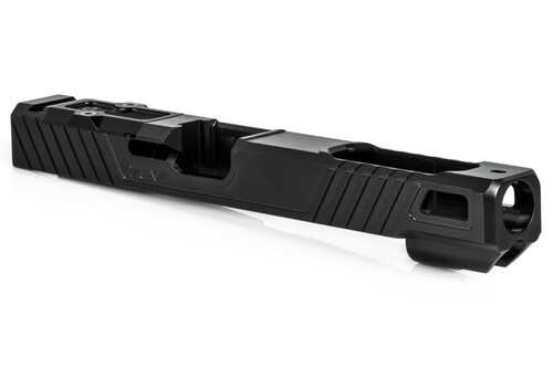 ZEV TECHNOLOGIES Z19 OZ9 EXTRA LONG SLIDE WITH RMR OPTIC CUT FOR 3RD GEN, DLC