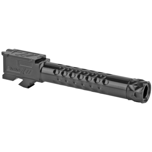 ZEV TECHNOLOGIES OPTIMIZED MATCH BARREL FOR G19, GEN1-5, 1/2X28 THREADING DLC