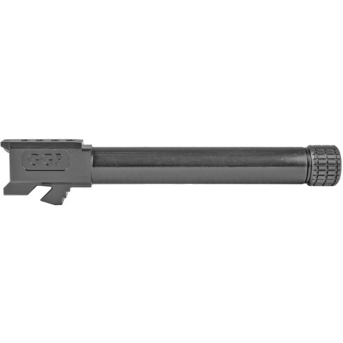 GREY GHOST PRECISION GGP-17 MATCH GRADE BARREL - FITS GLOCK® 17 - THREADED, BLACK NITRIDE