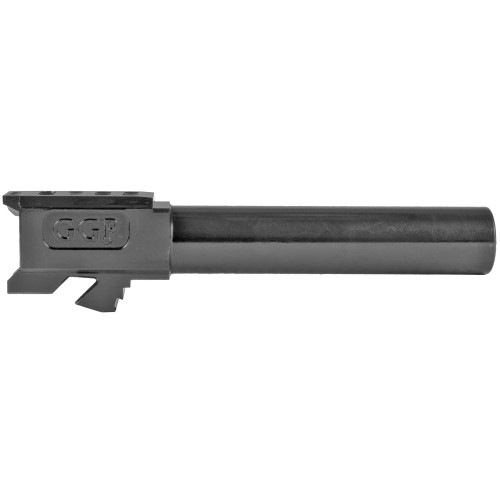 GREY GHOST PRECISION GGP-19 MATCH GRADE BARREL - FITS GLOCK® 19 GEN 5 - NON THREADED, BLACK NITRIDE