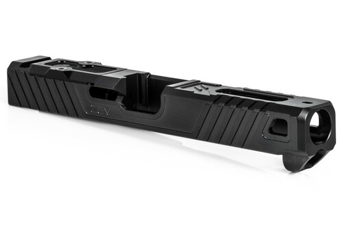 ZEV TECHNOLOGIES Z19 OZ9 LONG SLIDE WITH RMR OPTIC CUT FOR 3RD GEN, DLC
