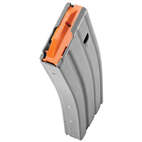 DURAMAG SPEED AR 5.56/.223/300BLK (ALUMINUM) GRAY - ORANGE ANTI TILT FOLLOWER