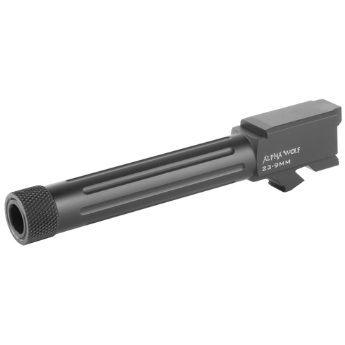 LONE WOLF DISTRIBUTORS ALPHAWOLF BARREL FOR M/23&32 CONVERSION TO 9MM THREADED 1/2 X 28