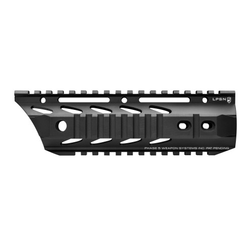 "PHASE 5 WEAPONS SYSTEMS 7.5"" LO-PRO SLOPE NOSE FREE FLOAT QUAD RAIL"