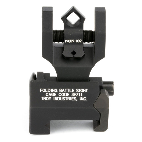 TROY INDUSTRIES DIOPTIC FOLDING SIGHT -BLACK