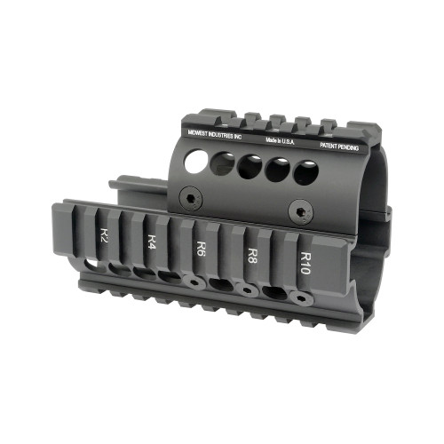 MIDWEST INDUSTRIES MINI DRACO AK HANDGUARD - BLACK