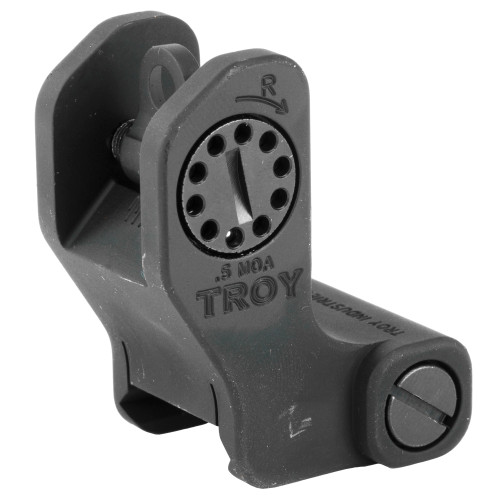 TROY INDUSTRIES FIXED REAR SIGHT - BLACK