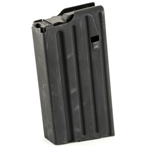 AMMUNITION STORAGE COMPONENTS SR-25 .308 20 RD STAINLESS STEEL MAGAZINE W/RIB ON REAR