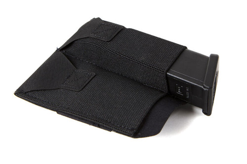 BLUE FORCE GEAR DOUBLE PISTOL BELT POUCH BLACK