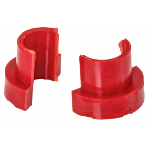 ZEV TECHNOLOGIES SPRING CUPS FOR GLOCK SLIDES, RED